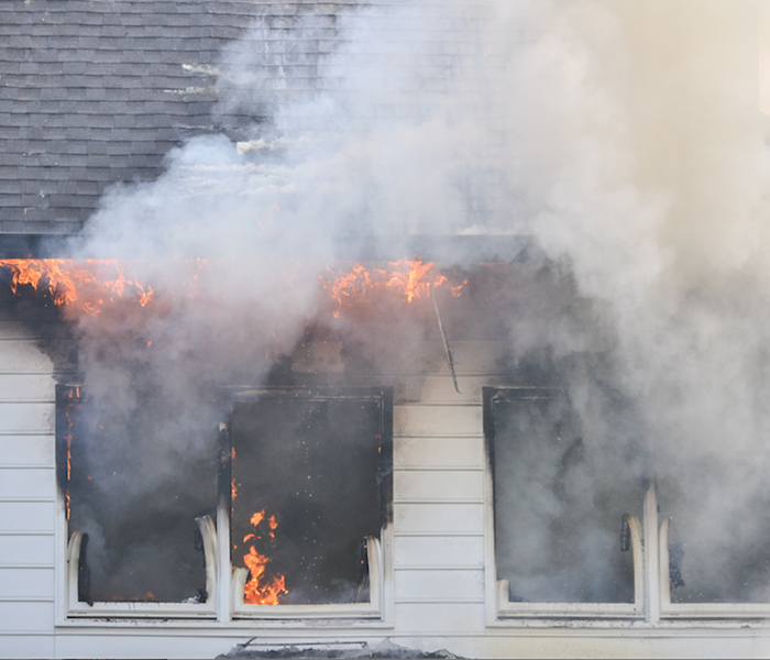 Fire Damage From Small Fires to Larger Ones, SERVPRO is Certified to Remediate the Damage